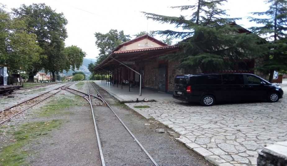 Tour to Ancient Corinth, Caves of Lakes at Kalavrita & Journey with Cog Railway