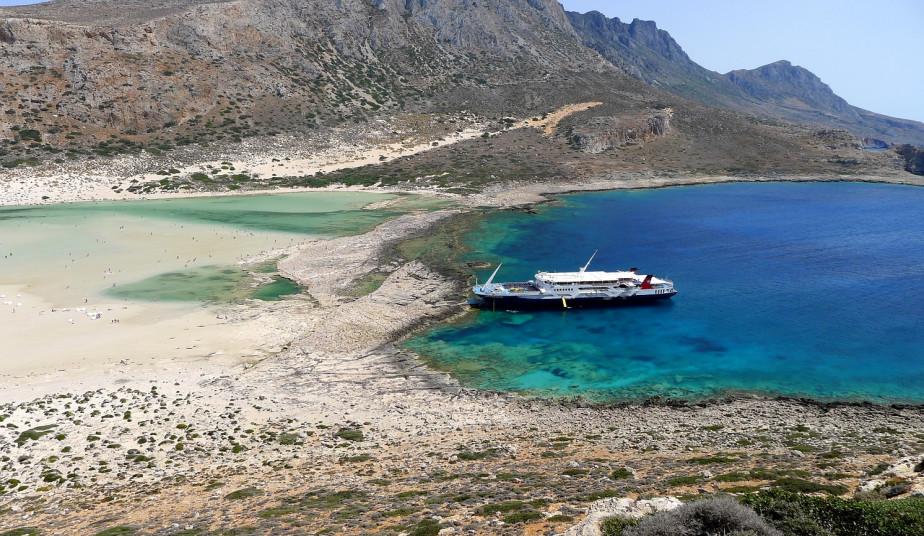 One day Cruise Tour to Gramvousa & Exotic Blue Lagoon of Balos in Crete