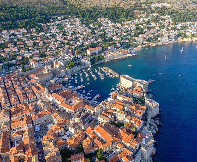 12 Day Tour in Santorini & Croatia, Visit  Dubrovnik, Kotor & Boka Kotorska Bay