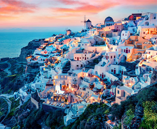 13 Day Exclusive Holiday Package to Amanzoe, Mykonos & Santorini