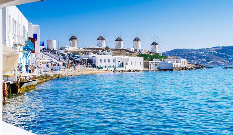 16 Day Tour Package In Greek Islands Mykonos L Paros L