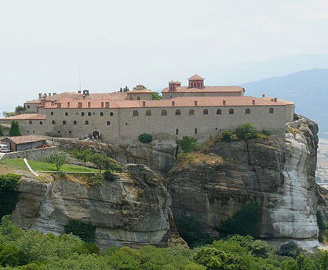 3 Days Private Christian Tour at the Monasteries of Meteora, the wonderful Lake of Plastira & Delphi from Athens