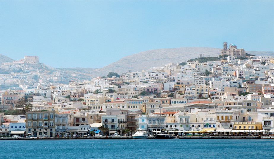 3 Day Tour Syros & Santorini from Athens, Venetian and Cycladic Style