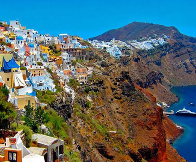 5 Day Greek Islands Holiday Package in Mykonos, Delos & Santorini with Sunset to Volcano