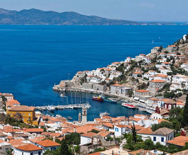 8 Day Group Tour in Classical Greece & Saronic Islands Cruise with Shared Bus