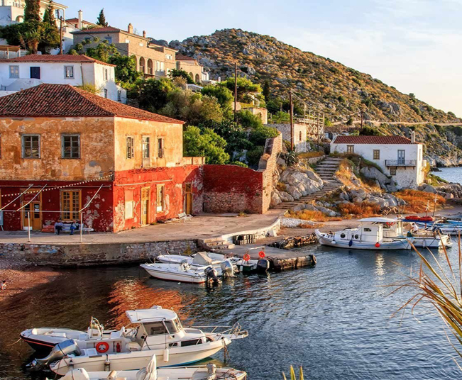 8 Day Honeymoon Holidays in Santorini, Athens & Self-Guided Tour at Hydra