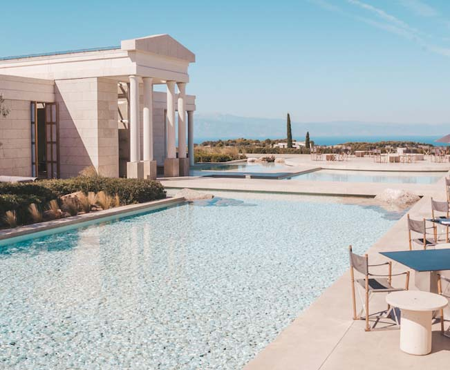 8 Day Luxury Holidays in Athens & Amanzoe a Dream Destination