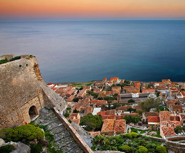 9 Day Luxury Tour Peloponnese, Greece to Mani & Monemvasia's Historic Gems