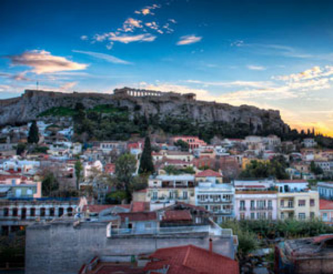 Athens Walking Sunset Tour in Acropolis & Walking Museum Tour