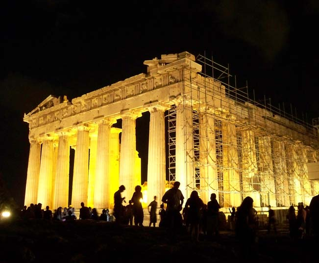 Private Athens by Night Tour, Folk Show Dance & Traditional Dinner