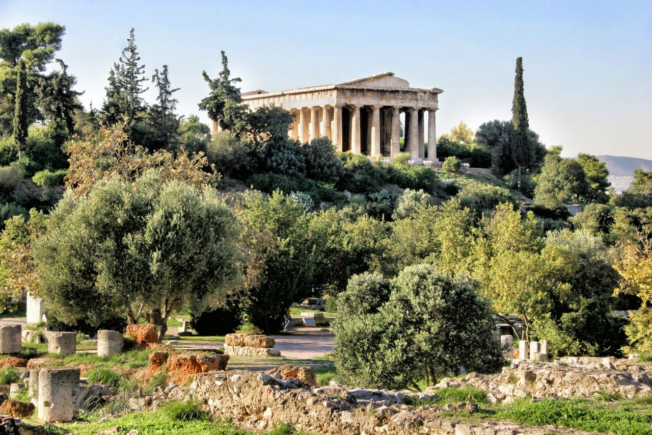 Christian Tour Athens, Mars Hill, Ancient Market I Apostle Paul's Footsteps