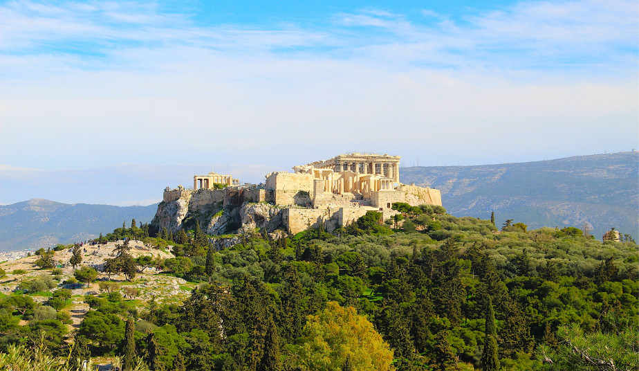 Half Day Christian Tour Athens, Mars Hill, Ancient Market, Tour in Acropolis
