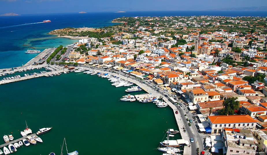 One Day Cruise tour to Saronic Islands from Athens. Visit Poros, Hydra, Aegina