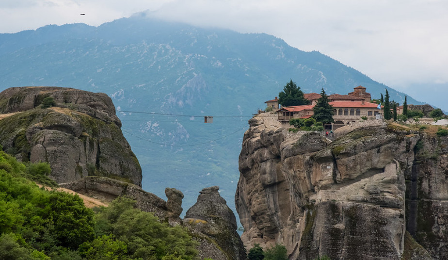 """Private Day Tour to Meteora from Athens, visit Monasteries of Meteora viewing """"suspended in air"""""""
