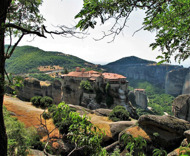 "Private Day Tour to Meteora from Athens, visit Monasteries of Meteora viewing ""suspended in air"""