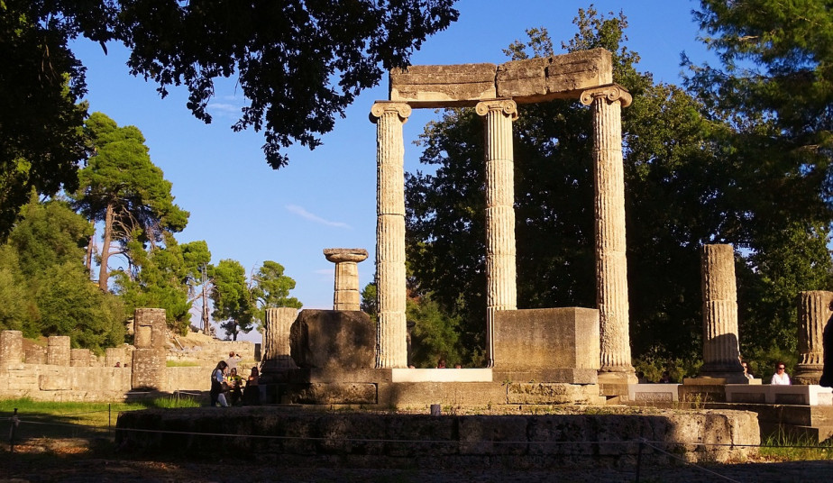 One day Private Tour to Ancient  Olympia & Honey Farm from Athens