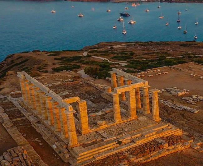 Shore Excursion Athens & Cape Sounio & Panoramic Tour at Athenian Riviera