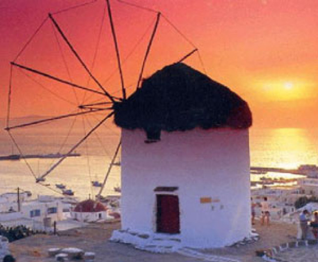 3 Day Greek Islands tour from Athens, Tour in Santorini, Tour in Mykonos, Delos cruise & Caldera Sunset
