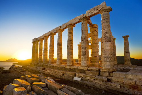 Private Sunset Tour at Cape Sounio, Athenian Riviera & Lake of Vouliagmenis
