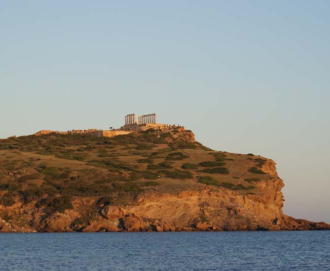 Half Day Sunset Tour to Cape Sounio, Temple of Poseidon, Lake Vouliagmenis