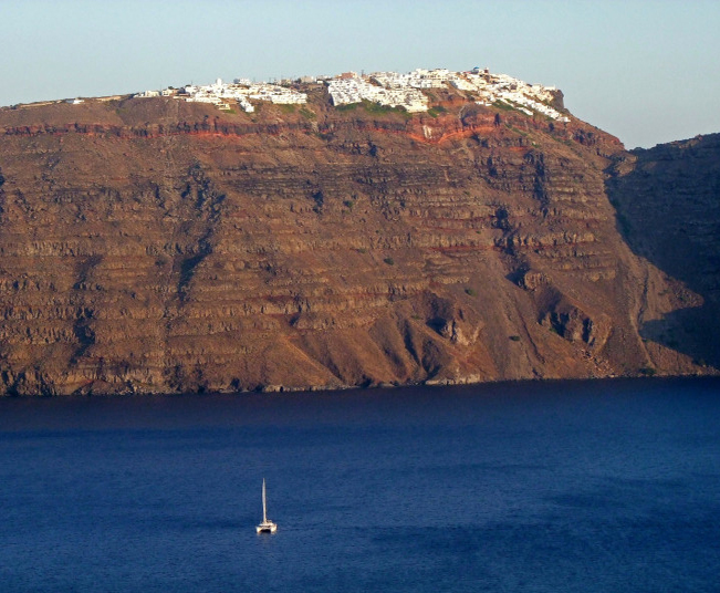 Private Sunset Cruise Tour to Volcano in Santorini Included BBQ on Board
