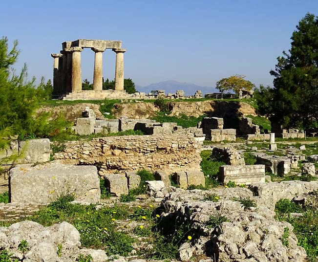 Tour in Corinth, The Temple of Hera (Heraion) & Church of Osios Patapios