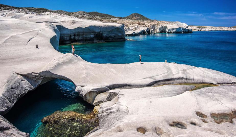 Semi Private Cruise to Kimolos & Poliegos Island  & famous beaches