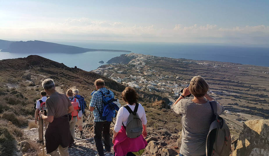 Hiking & Walking tour in Santorini, Explore Fira, Firostefani, Imerovigli, Oia