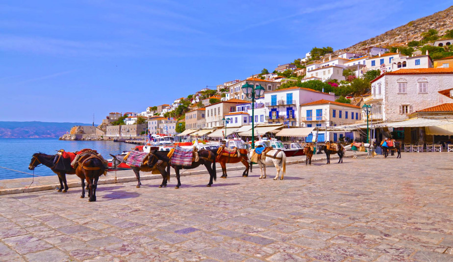 One Day Self-Guided Tour at the Romantic Island of Hydra from Athens