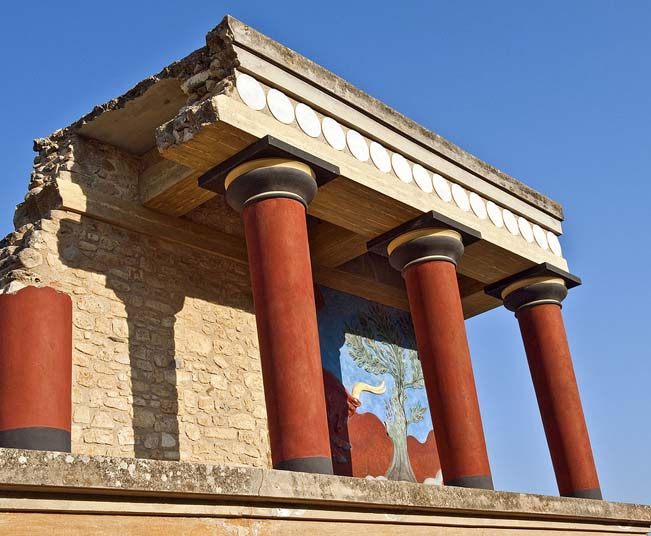 Shore Excursion Crete from Heraklion port to Palace of Knossos & Museum,