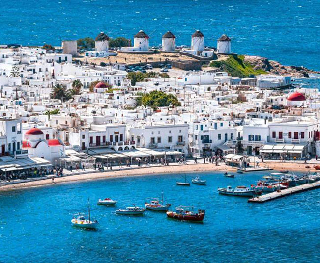 Private Shore Excursion Mykonos, Walking Tour, Beaches & Villages Tour