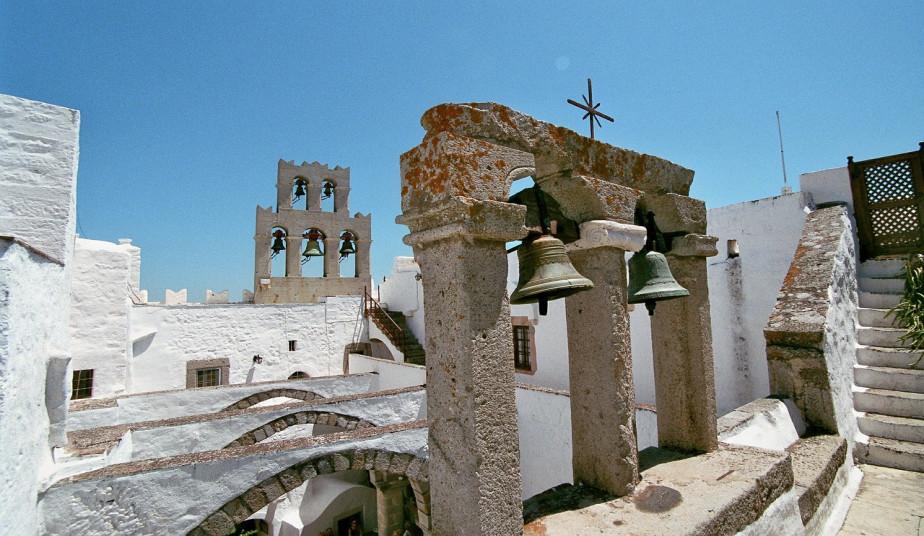 Shore Excursion from Patmos cruise port to Grotto of Apocalypses, Chrora