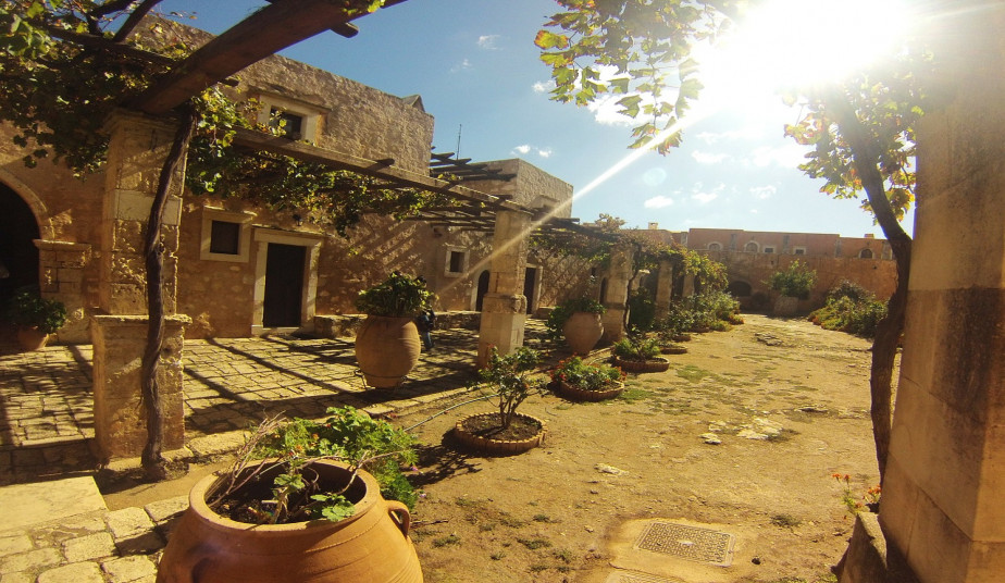 Tour at Crete's Highlights & Walking Tour at the Old City of Rethymno, Arkadi