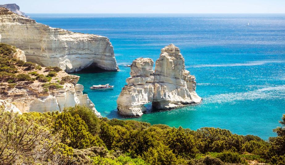 Semi Private Cruise to the West Side Beaches of Milos, Klesftiko, Arkoudes