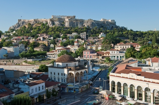 Acropolis Neighborhoods And Historical Center