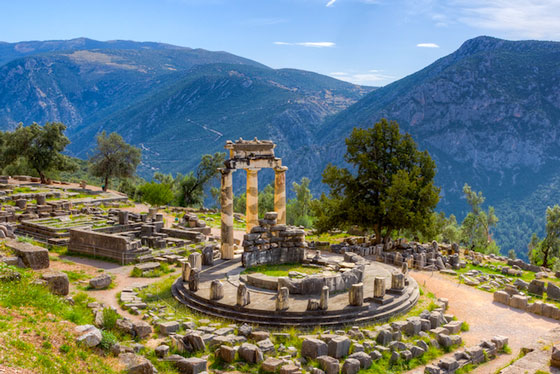Archaeological Research in Delphi