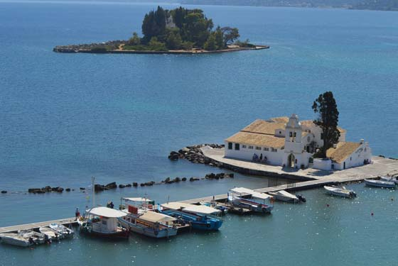Corfu - Five Sites Located Around the City of Corfu Used to be the Aristocracy's Favourites