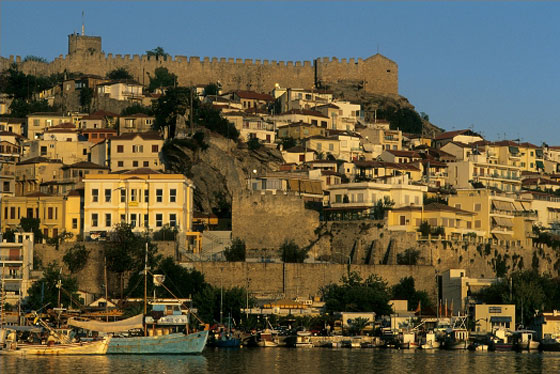 Kavala - Kamares, The Castle and the Acropolis, Imaret & The Mecca of tobacco
