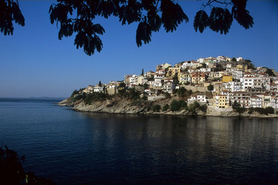 Kavala - The modern town & Seven important buildings