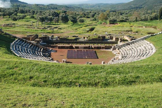 Messene - On your way to Kalamata, The revival of the Ancient Theatre & Pylos' Castles