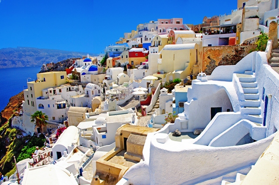 Santorini - Searching for Romance